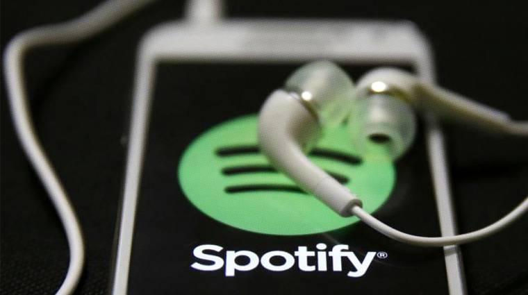 Dübörög a Spotify kép