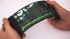 Jövőre jöhetnek a hajlítható Samsung okostelefonok kép
