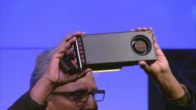 A legolcsóbb VR-képes videokártya lett a Radeon RX480 kép