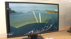 144 hertzes 4K monitorral készül az ASUS kép
