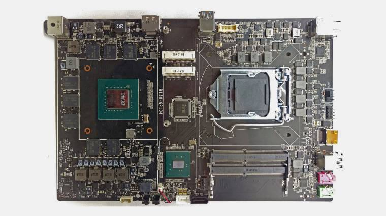 Colorful alaplap integrált GTX 1070 GPU-val kép