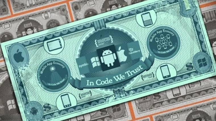 Több pénzt ad a fejlesztőknek az Apple és a Google kép