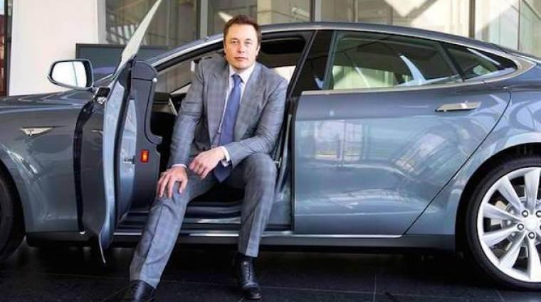 Nagyon leégette magát a Tesla a Google előtt kép