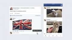 Már videókkal is kommentelhetünk a Facebookon kép
