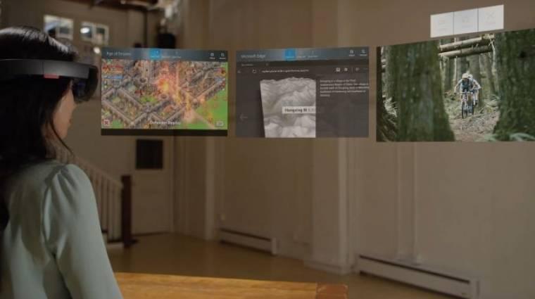 Multitaskingra is képes lett a HoloLens kép