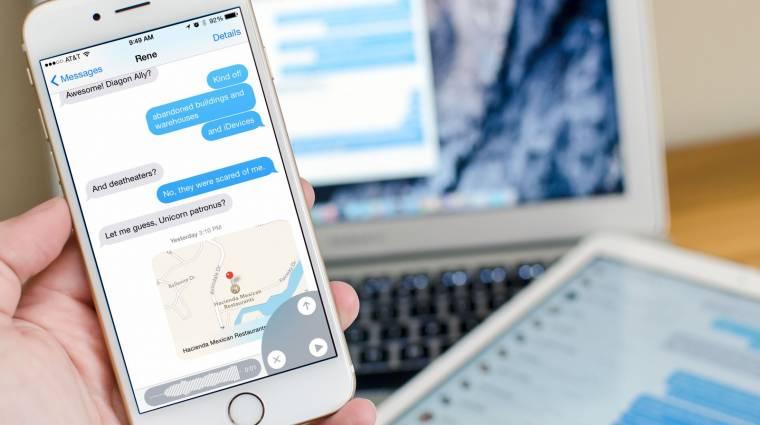 Androidra költözhet az iMessage kép