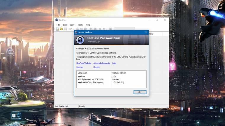 Befoltozták a KeePass sérülékenységét kép