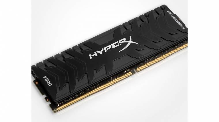 Itt vannak a Kingston új HyperX Predator memóriái kép