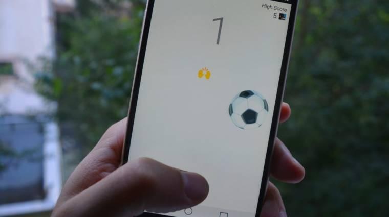 Így focizhatsz a Facebook Messengerben kép