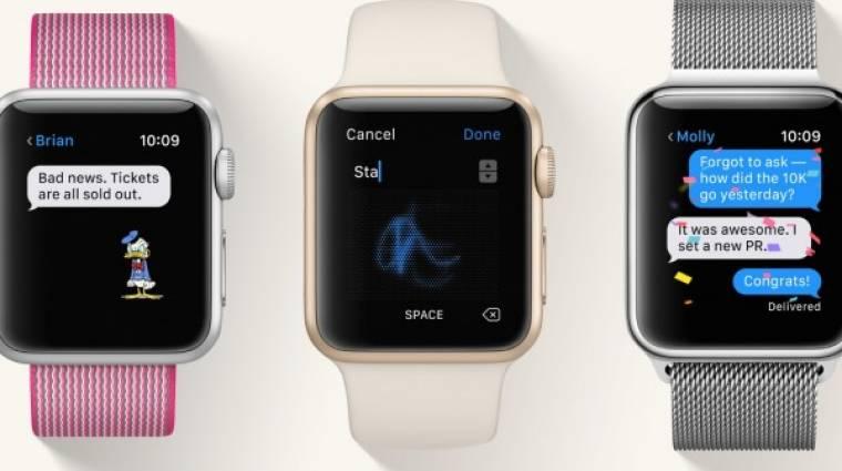 Gyorsabban indítja az appokat a watchOS 3 kép
