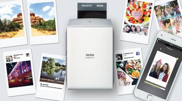 Okostelefonokhoz készült a Fujifilm új nyomtatója kép