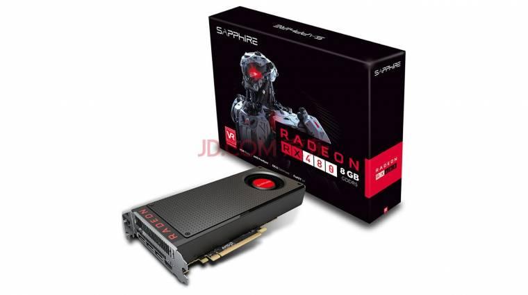 Kiderült a 8 GB-os AMD Radeon RX 480 ajánlott ára kép