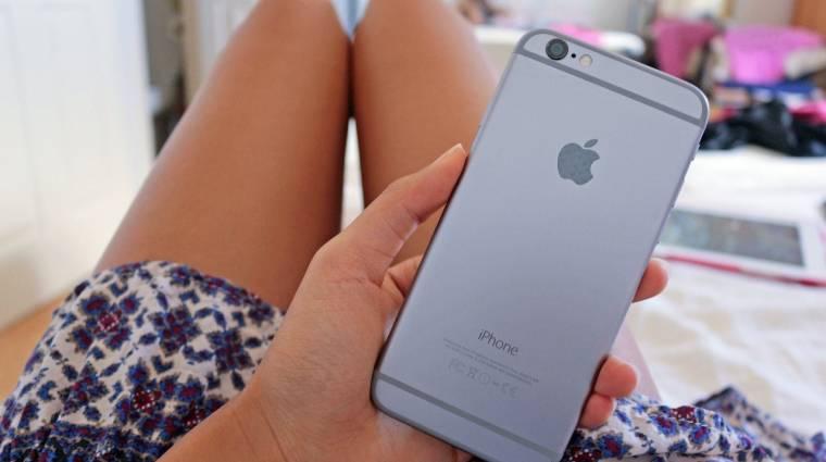 Tovább tartanak ki a készülékük mellett az iPhone-osok kép