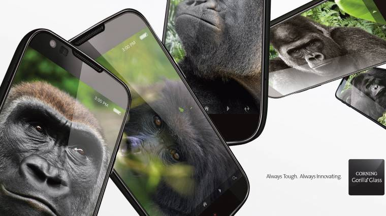 Kemény lett a Gorilla Glass 5 kép