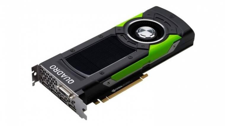 Mindennél izmosabb az NVIDIA Quadro P6000 kép