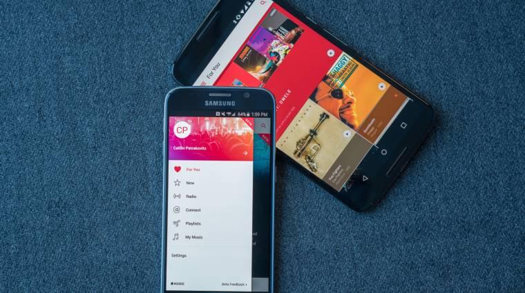 Frissült az androidos Apple Music kép