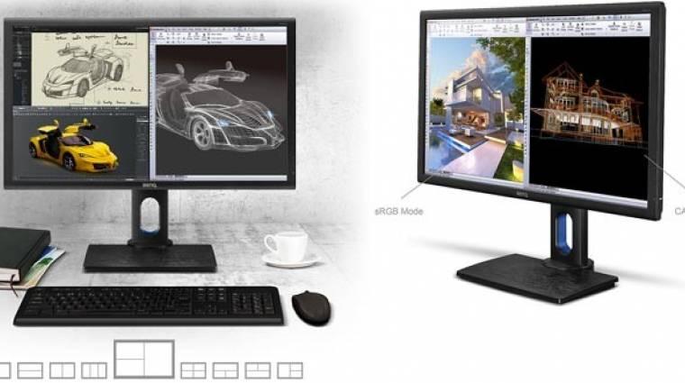 Sokat lehet dolgozni a BenQ új monitora előtt kép