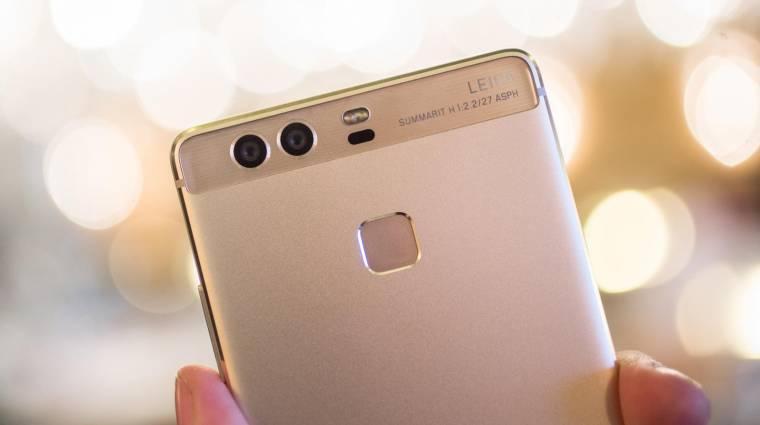Ügyesen trükközött a Huawei kép