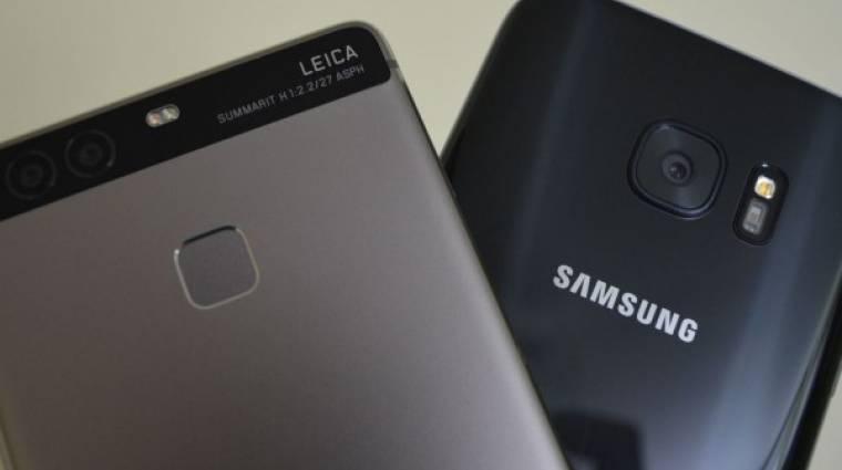 A Samsung beperelte a Huawei-t kép