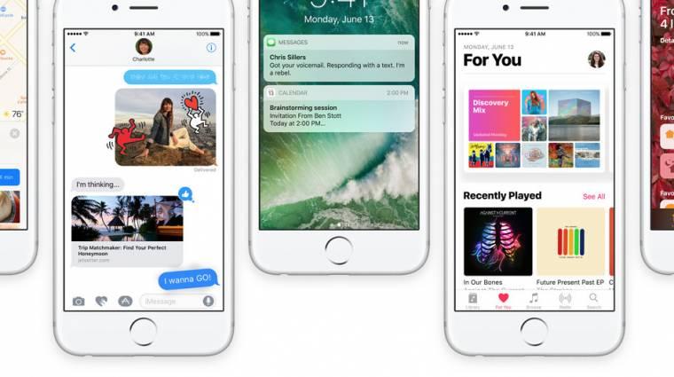 Megérkezett az iOS 10 nyilvános bétája kép
