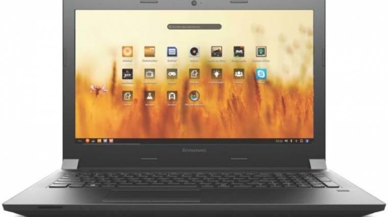 Endless OS-t rakott új noteszgépére a Lenovo kép