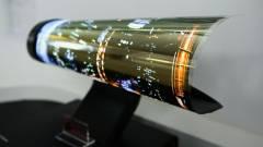 A hajlékony OLED felé fordul az LG kép