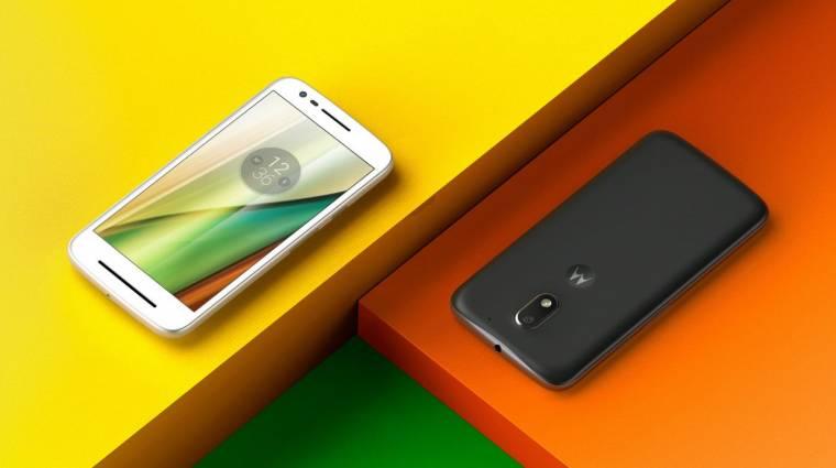 Bruttó 99 fontért jön az idei Motorola Moto E kép
