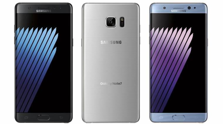 Gyors lesz a Galaxy Note 7 kép