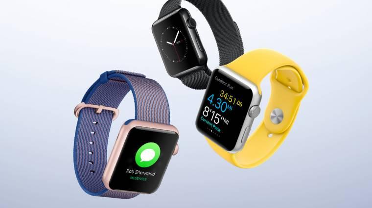 Falnak ment az Apple Watch kép