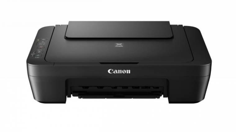 Fejlett Wi-Fi és felhőfunkciók a Canon új nyomtatóiban kép