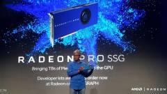 1 terabájt VRAM került az AMD videokártyájára kép