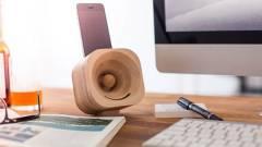 Fából van az új okostelefon-hangszóró kép