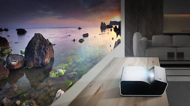 Bárhol vetít az LG akkumulátoros projektora kép