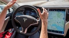 Életet mentett a Tesla robotpilótája kép