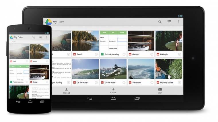 Véget ér a Google Drive támogatása az Android 4.0-n kép