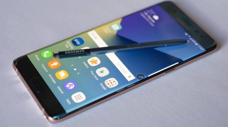 Máris rekordokat döntött a Galaxy Note 7 kép