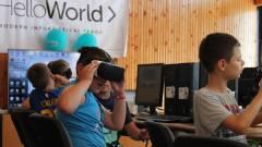 A közoktatásban is bizonyít a VR kép