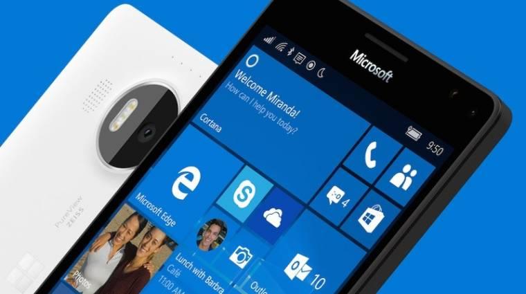 Megkezdődött a Windows 10 Mobile frissítésének terjesztése kép