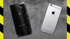 Így törik a Galaxy Note 7 és az iPhone 6S kép