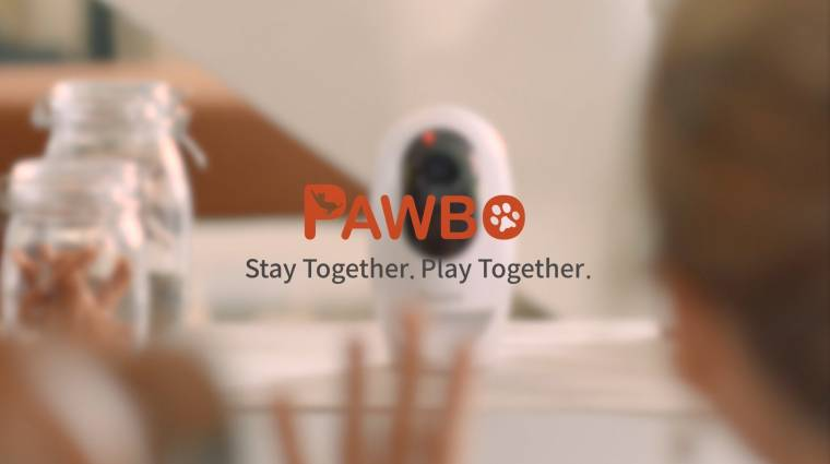 Távolról segít felügyelni a háziállatokra a Pawbo+ kép