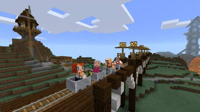 Napokon belül jön a Minecraft Oculus Riftre kép