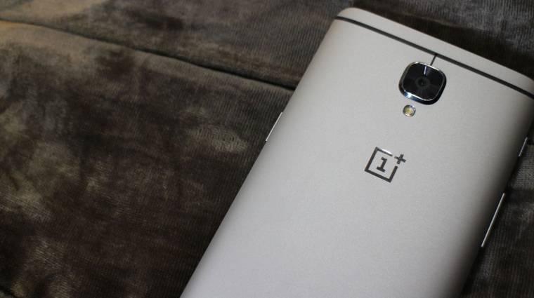 Nem könnyű a OnePlus 3-tulajok élete kép