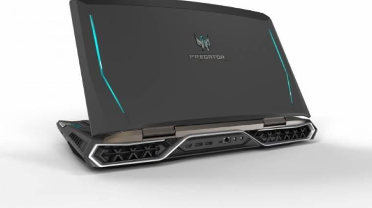 Mindent elsöprő gamer laptoppal újított az Acer kép