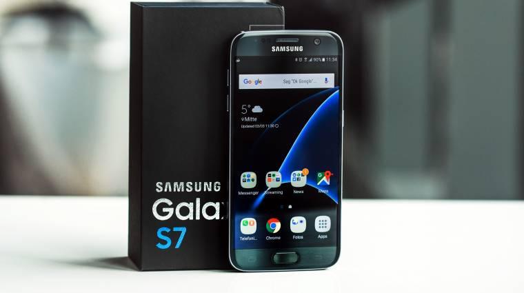 A Galaxy S7-re megy a Samsung felhője kép