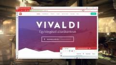 Elérhető a stabil Vivaldi 1.3 kép
