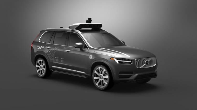 Még idén csatasorba áll az Uber első önvezető autója kép