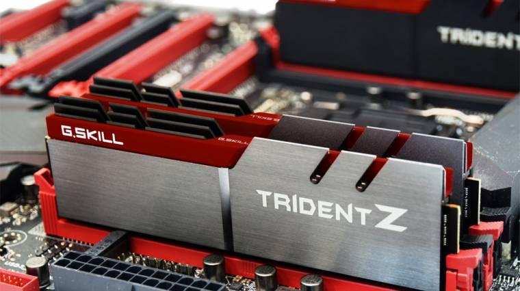 Villámgyors DDR4-es memóriával frissített a G.Skill kép