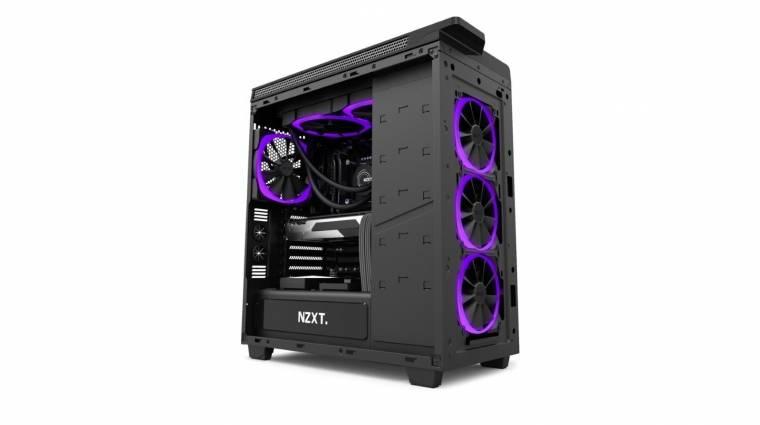 RGB-s hűtőventilátorokkal frissített az NZXT kép