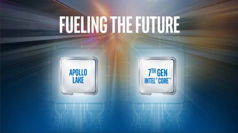 Itt vannak az Apollo Lake processzorok kép
