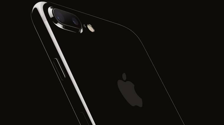 Összekarcolódhat a kozmoszfekete iPhone 7 kép